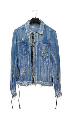 SOLD OUT - JACKET DENIM WAXED