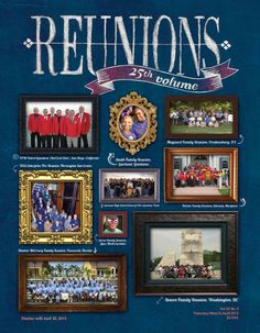 Reunions magazine Spring issue 2015 now on Etsy! In the issue, Dean Miller's Hospitality Answerman introduces the food feature with very helpful information for planning and ordering food for your reunion. Then there are lots of food ideas for your consideration. Read about interesting class reunions; Barstow, California, class reunion finds Laughlin, Nevada, a wonderful place for a reunion, while a high school for military dependents finds Fairfax County, Virginia, perfect.