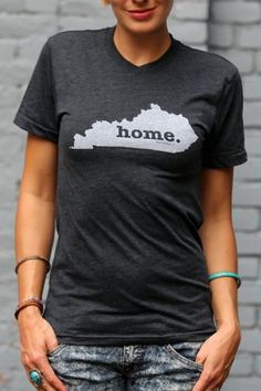 Kentucky Home T Shirt   The Home. T   Bourbon & Boots