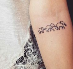 Represents me and my two sisters... Each sister can get her favorite animal though #SisterTattooIdeas