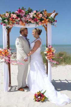 Creative Coastal Wedding Flower Decor