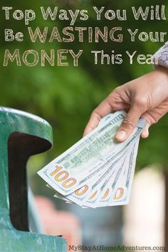 Chances are that during 2016 you will be wasting your money on these things. Some of these things you will be wasting your money we do everyday! Check out what we will be wasting our money this year and stop throwing your money away! http://www.mystayathomeadventures.com/wasting-your-money/