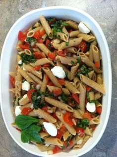 mmmmm, mondays: bruschetta pasta