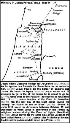 Jesus: Return To Judea and Perea