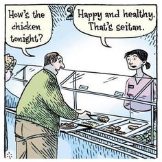 You gotta love Vegan humor :)