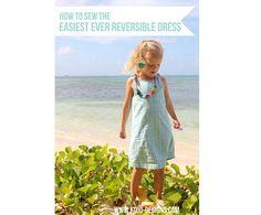 Tutorial: Little girl's simple reversible dress