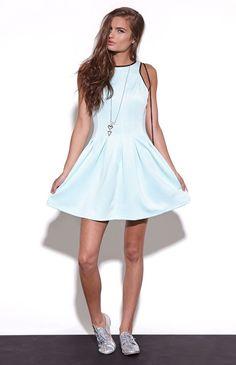 Nameless Light Scuba Dress #pacsun