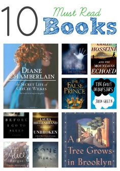 10 must read books #book #ideas