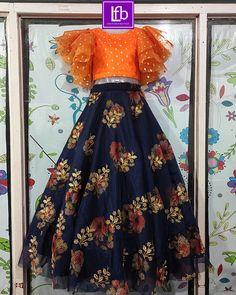 Long Frocks For Girls, Stylish Dresses For Girls, Gowns For Girls, Stylish Dress Designs, Dresses Kids Girl, Indian Dresses For Kids, Long Skirt Top Designs, Long Dress Design, Kids Dress Wear