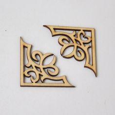 Cheap Jaula de madera Adorno adorno de scrapbooking del Arte de DIY forma de…