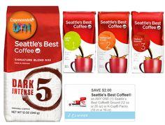 Seattles Best Coffee a solo $3.00 en Target