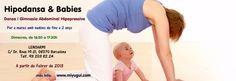 Hipodansa & Babies - Dansa i gimnasia hipopressiva. Ara a Lenoarmi. (30 de gener 2013 classe de proba)
