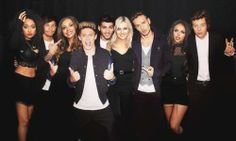 ONE DIRECTION AND LITTLE MIX