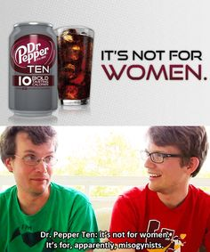 John & Hank Green on Dr Pepper 10 (Thank you, I hated those commercials)