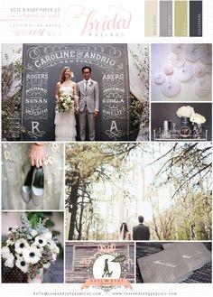Chalkboard Wedding Inspiration by @Rose Murphy | Bridal Musings