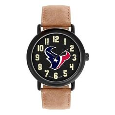 Houston Texans Throwback Vintage Style Watch