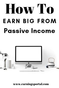 What Is Passive Income & How To Achieve It — EarningsPortal Online Income, Online Jobs, What Is Passive Income, Make Money Online, How To Make Money, Budget App, Make Money Writing, Meaningful Life, Money Saving Tips