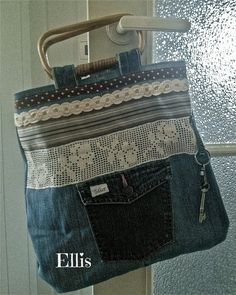 Denim Jean Purse