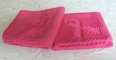 Ravelry: ARTKNITSTUDIO's Pink ribbon washcloth/ Breast cancer awareness