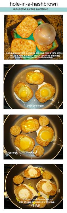 happy day antiques : online antique store, etsy antiques, antiques and collectables: School's in session : hash browns in a hole!