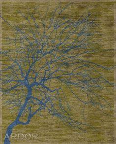 col. Contemporaty / TREE Gold green/blue