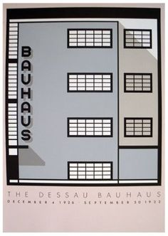 There's something so awkward in Bauhaus design, and I love that.