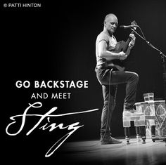 Sting...don't mind if I do!!