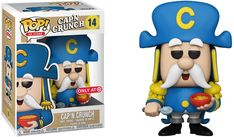 Funko Pop Ad Icons Captain Crunch Cap'n Crunch 14 Target Exclusive Cereal Bowl Pop Bobble Heads, Best Funko Pop, Funko Pop Dolls, Pop Figurine, Funko Pop Exclusives, Pop Ads, Funk Pop, Disney Pop, Cap'n Crunch