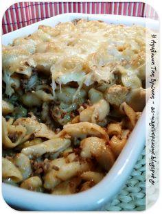 Η απόλαυση της βρώσης ~ Ας μαγειρέψουμε Macaroni And Cheese, Pasta, Ethnic Recipes, Food, Mac And Cheese, Meals, Noodles, Yemek, Eten