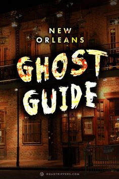 """Is New Orleans """"the most haunted city in America""""? Those traveling to the most haunted city in America, New Orleans, will have more then enough scares and ghost destinations to explore. Time Travel, Places To Travel, Travel Tips, Places To Go, Travel Hacks, Travel Advice, Solo Travel, New Orleans Vacation, New Orleans Travel"""