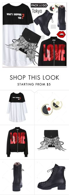 """""""Pack and Go: Winter Getaway-Tokyo"""" by paculi ❤ liked on Polyvore featuring Givenchy, vintage, under100 and Packandgo"""