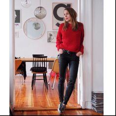 red sweater <3 by Katja Schweitzberger