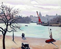 """Tree"", 1938  ~  Albert Marquet"