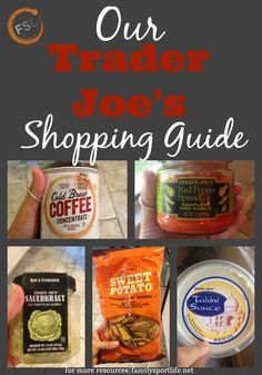 Our Trader Joe's Shopping Guide