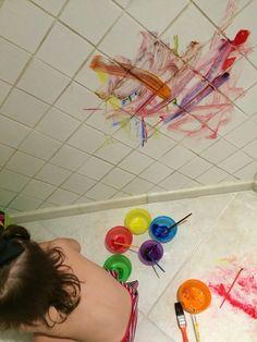 Pintando as paredes