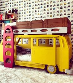 VW van bunk bed