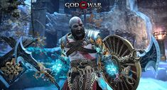 Kratos God Of War, Gamer Tags, Spartan Warrior, Video Game Characters, Medieval Art, Greek Gods, Ancient History, Thor, Videogames