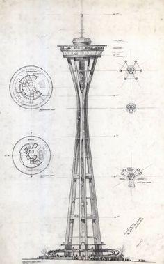 "n-architektur: "" Space Needle John Graham & Company """