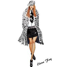 In love with @ralphlauren Spring 2014 collection, that's why the illustration…