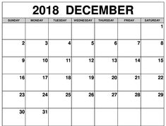 calendar december 2018 and january 2019