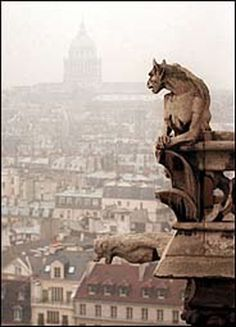 gargoyle - lord of all he surveys