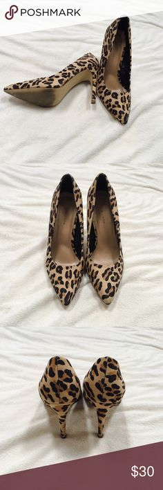 NWOT New Look leopard heels NWOT heels. Leopard print. Bought from ASOS by New Look. UK 6 = US 9. Message with any questions. New Look Shoes Heels