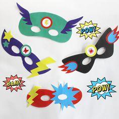 Créez des masques de super-héros avec nos gabarits gratuits ! Venez découvrir nos autres ateliers et déguisements DIY sur notre blog ...