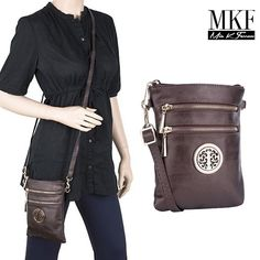 MKF Collection Cross Body Bag - 18 Colors