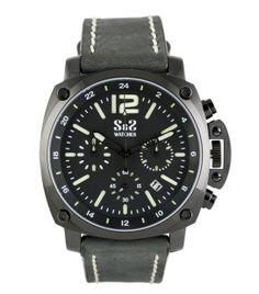 Reloj S&S Mod. GU-1916-BS Negro/Verde