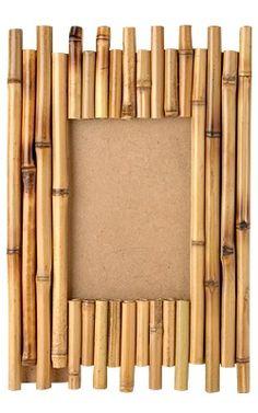 Bilderrahmen Bambus für Bilder in ca. 10 x 15, stehend