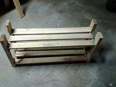 pallet recycling - shoe rack - by knz @ LumberJocks.com ~ woodworking community
