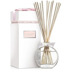 Chando Elegance Sandalwood Musk Aromatic Diffuser- 2.7 oz. (1.069.145 IDR) ❤ liked on Polyvore featuring home, home decor, home fragrance, aroma reed diffuser, reed diffuser, scented reed diffuser, aromatic diffuser and scent diffuser