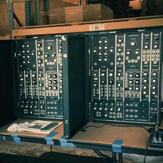 MATRIXSYNTH: First Two New Moog Model 15 Modular Synthesizers