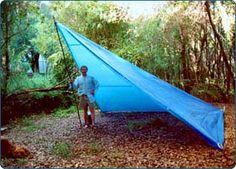 DIY Tents Made With Grip Clips Tarp and Fabric Fasteners